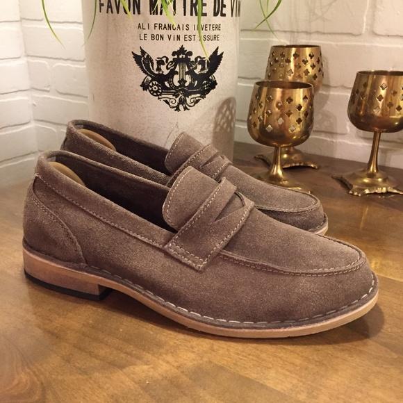 e144c302acb Frank Wright Hamilton Suede Loafers Mens 7